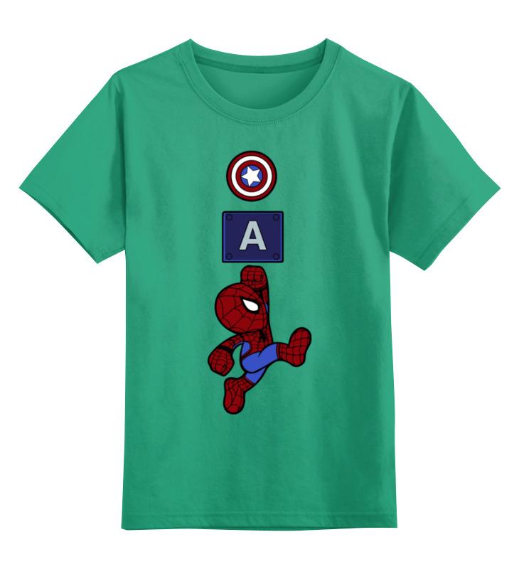 Детская футболка классическая унисекс Printio Человек паук-марио stor кружка детская великий человек паук 325 мл