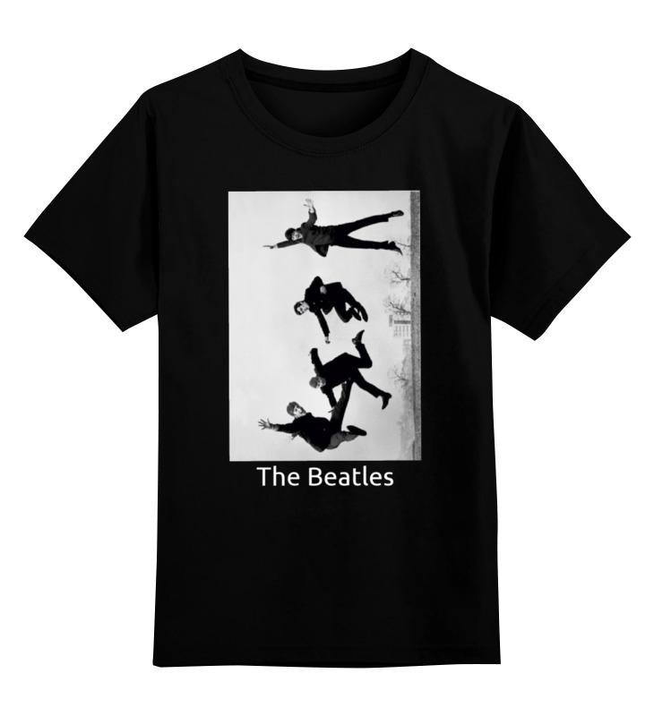 Детская футболка классическая унисекс Printio The beatles the beatles the beatles let it be ecd