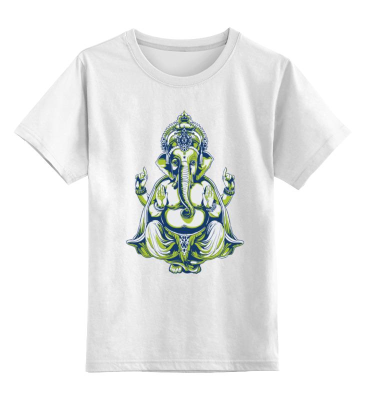 Детская футболка классическая унисекс Printio Gaṇeśa गणेश детская футболка классическая унисекс printio мотобайк