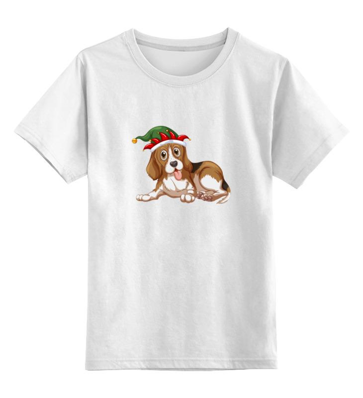Детская футболка классическая унисекс Printio Милый щенок детская футболка классическая унисекс printio мачете