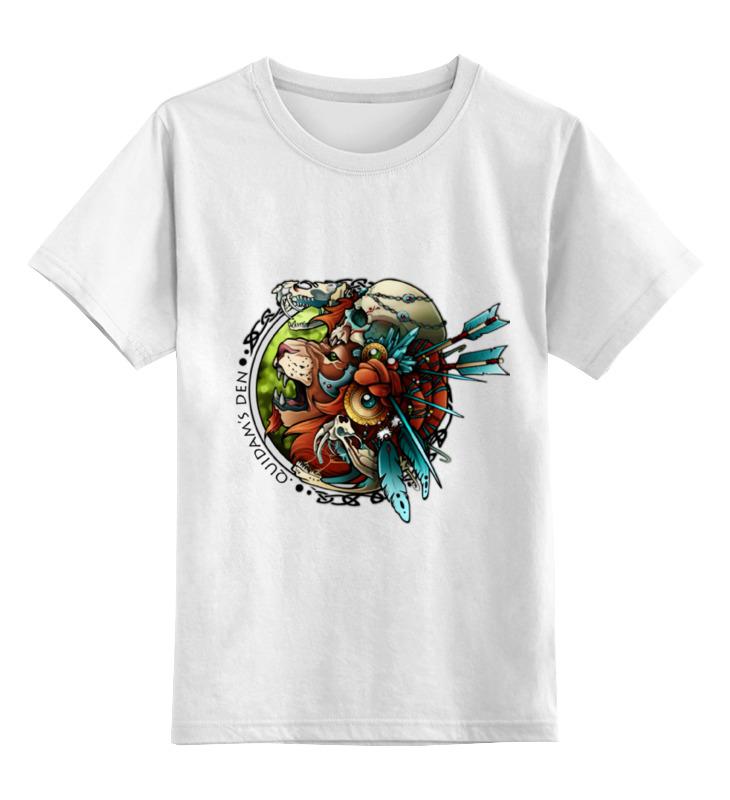 Детская футболка классическая унисекс Printio Лев-воитель воитель