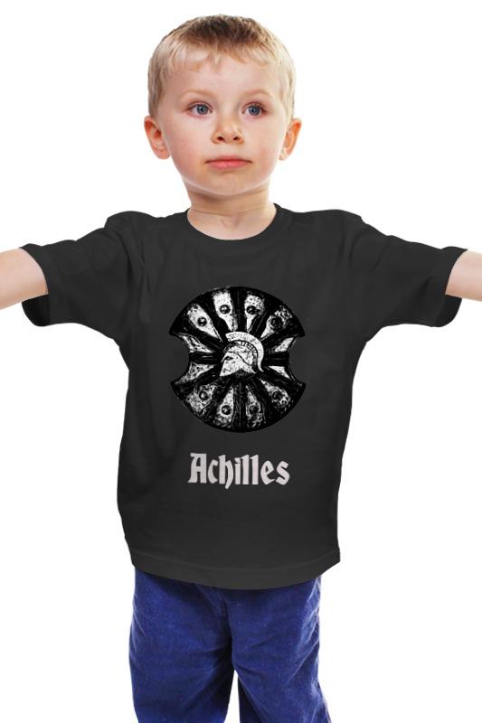 Детская футболка классическая унисекс Printio Achilles