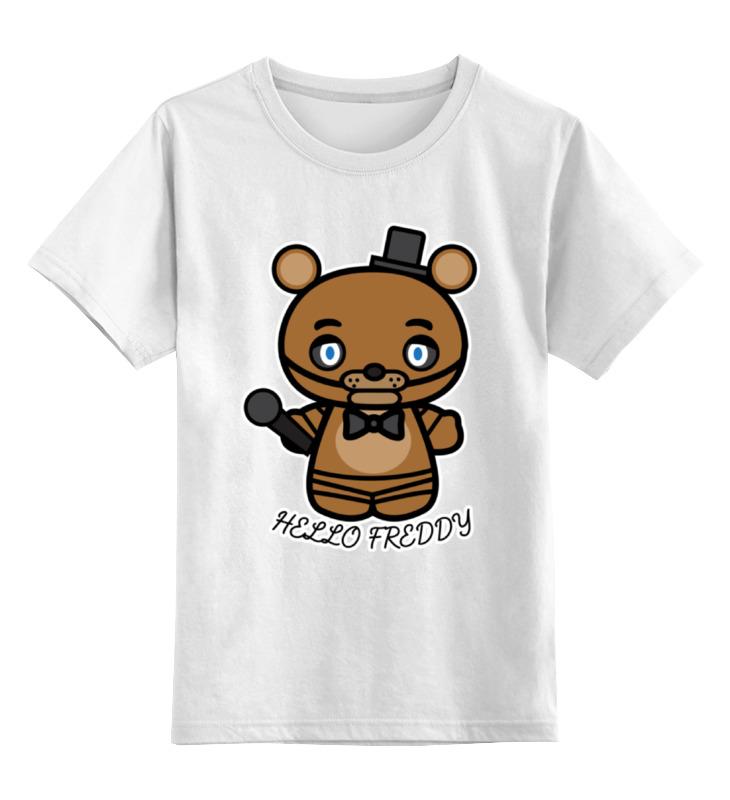 Детская футболка классическая унисекс Printio Пять ночей у фредди б у корбюратор на рено 19 в москве