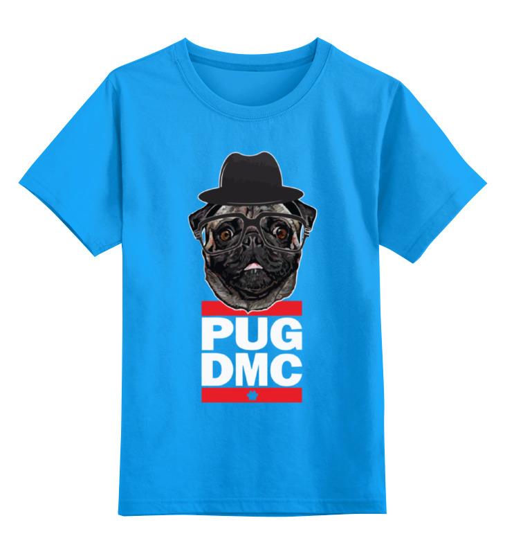 Детская футболка классическая унисекс Printio Pug x run dmc толстовка wearcraft premium унисекс printio pug x run dmc