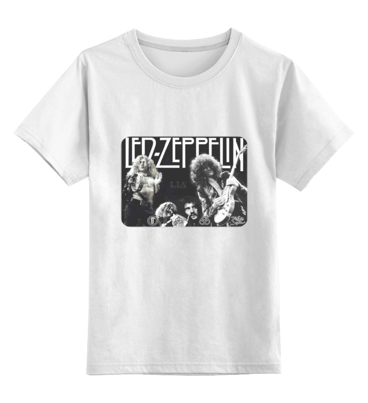Детская футболка классическая унисекс Printio Группа led zeppelin виниловая пластинка led zeppelin led zeppelin 3lp