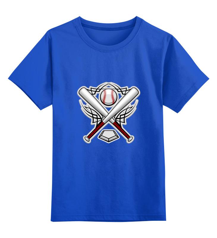 где купить Детская футболка классическая унисекс Printio Бейсбольная эмблема по лучшей цене