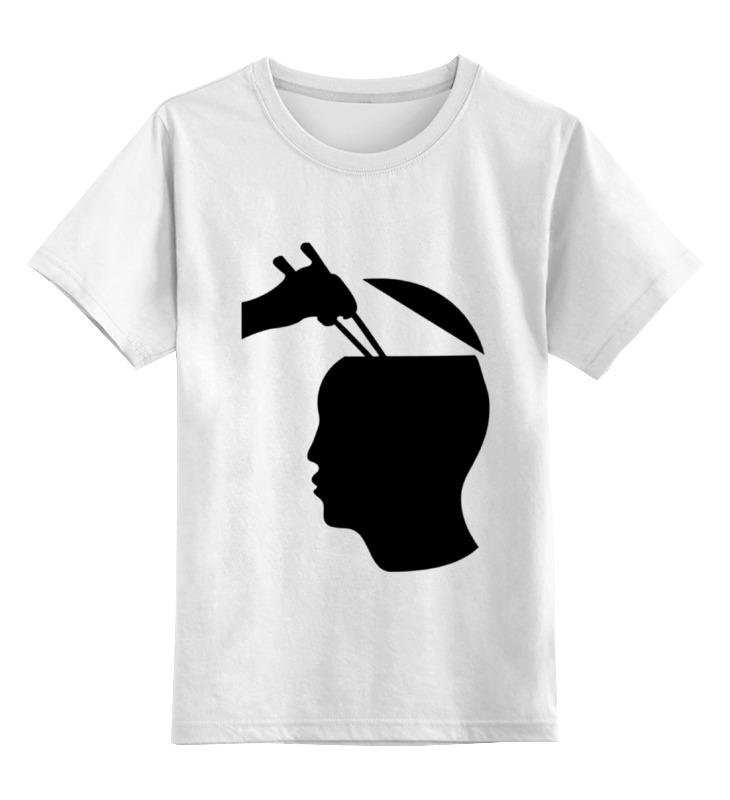 цена на Детская футболка классическая унисекс Printio Палочки для суши