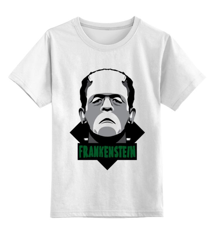 Детская футболка классическая унисекс Printio Франкенштейн детская футболка классическая унисекс printio красавица и чудовище