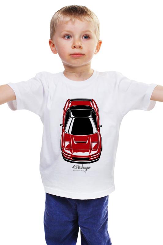Детская футболка классическая унисекс Printio Honda / acura nsx сумка printio honda acura nsx