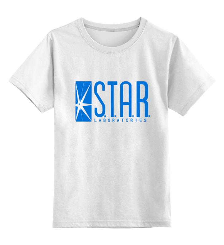 Детская футболка классическая унисекс Printio Star laboratories футболка детская dc star lemon chrome
