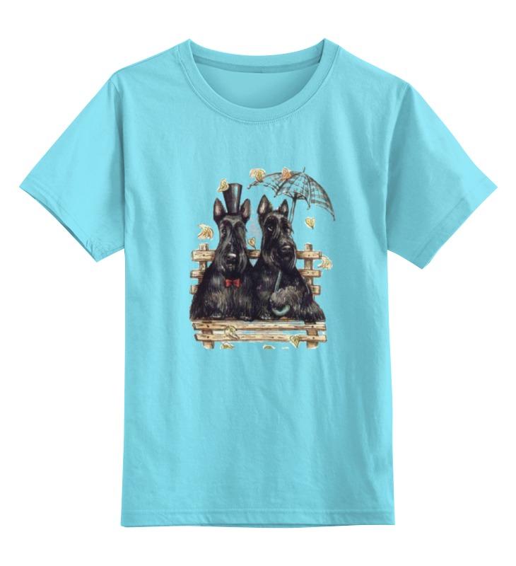 Детская футболка классическая унисекс Printio Cкотчи на скамейке детская футболка классическая унисекс printio оранжевое солнце