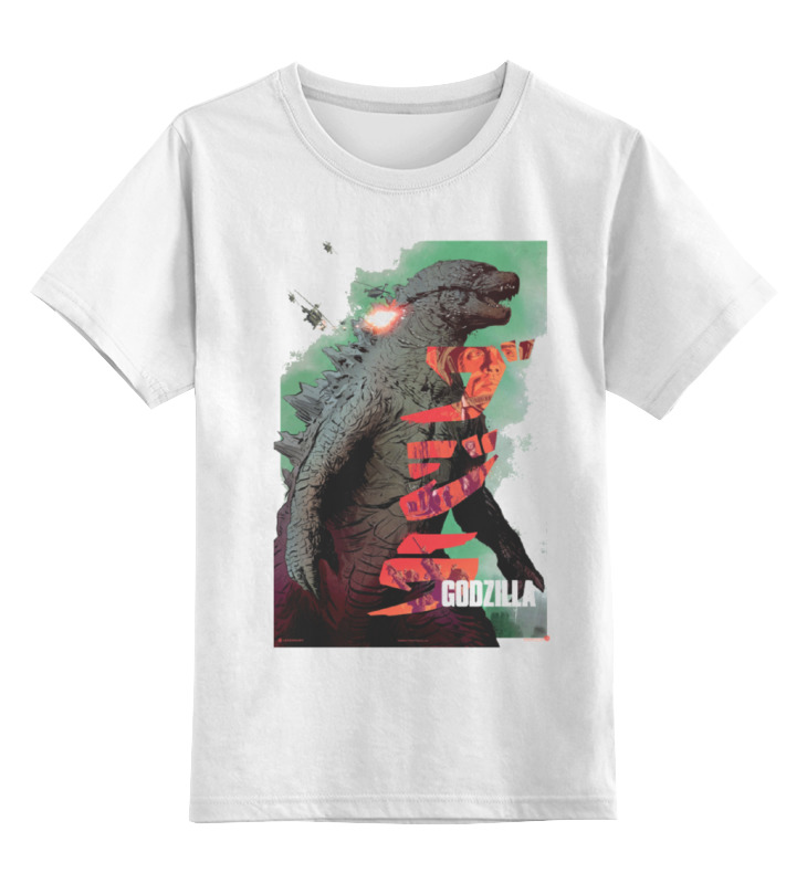 Детская футболка классическая унисекс Printio Godzilla детская футболка классическая унисекс printio godzilla white