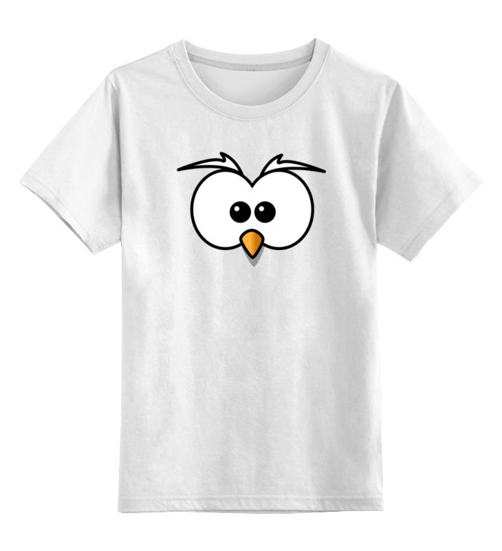 Детская футболка классическая унисекс Printio Птица детская футболка классическая унисекс printio космическая птица