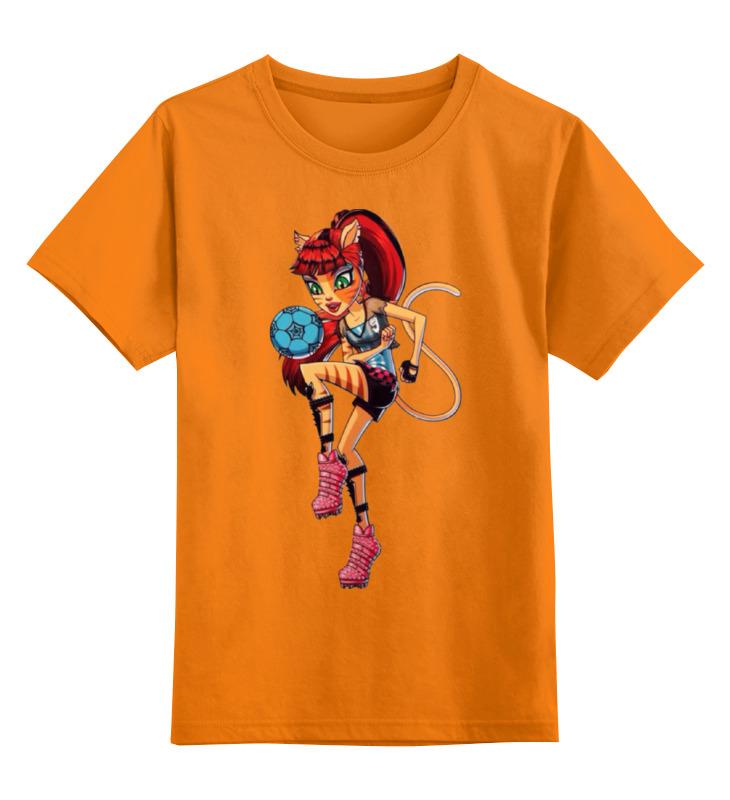Детская футболка классическая унисекс Printio Монстр хай