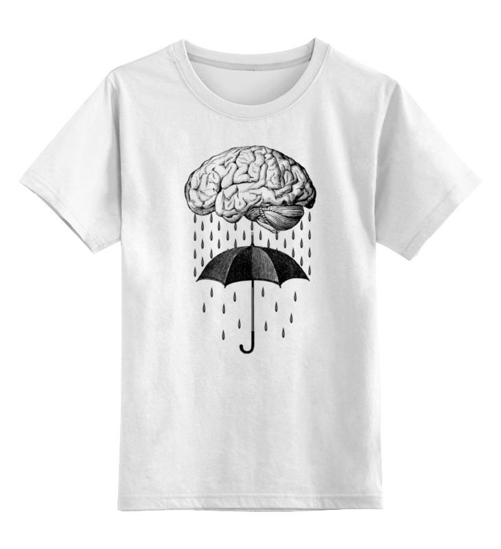 Детская футболка классическая унисекс Printio Brain rain детская футболка классическая унисекс printio мачете