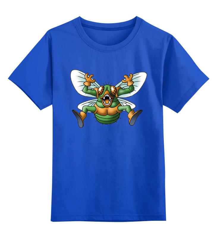 Детская футболка классическая унисекс Printio Злой шмель