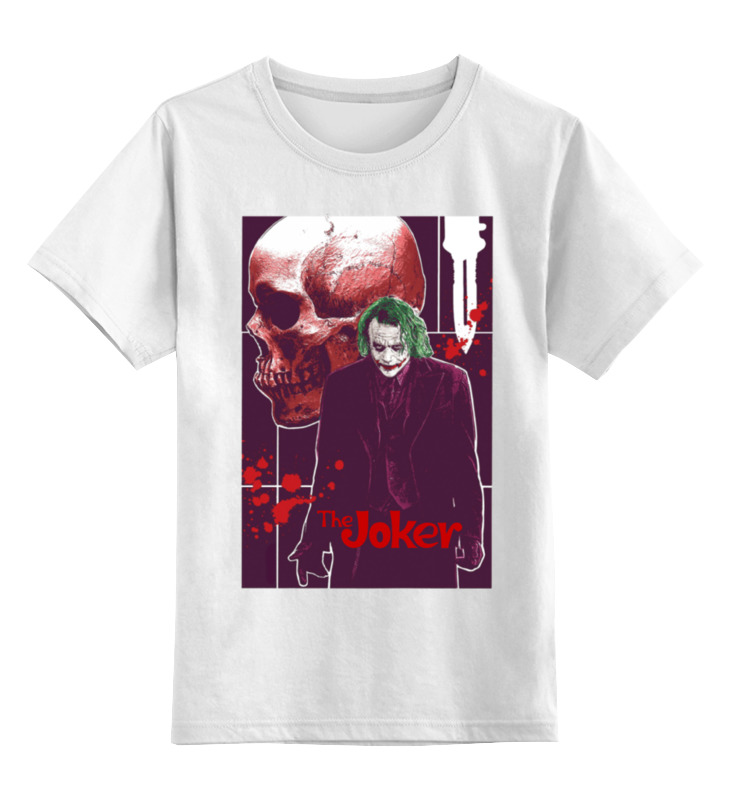 Фото - Printio The joker детская футболка классическая унисекс printio joker style