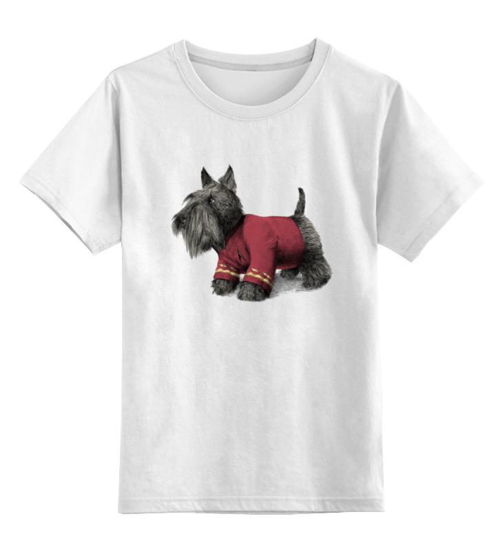 Детская футболка классическая унисекс Printio Терьер детская футболка классическая унисекс printio йоркширский терьер
