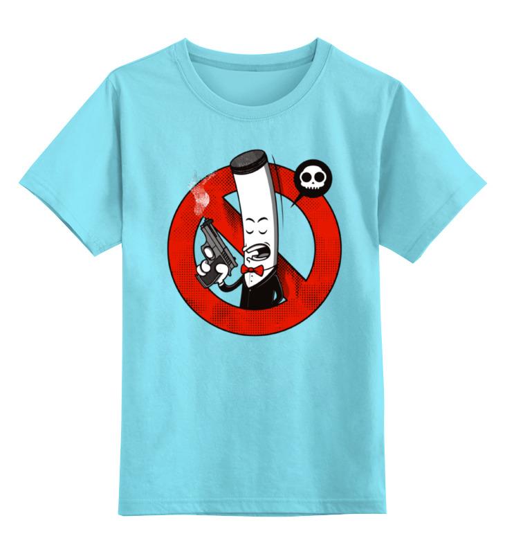 Детская футболка классическая унисекс Printio Курение убивает! (сигарета)