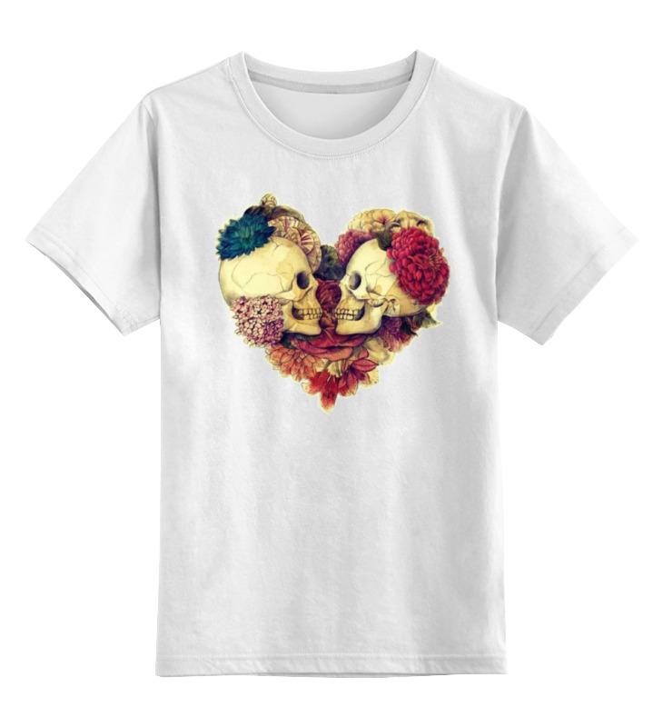 Детская футболка классическая унисекс Printio Skull art детская футболка классическая унисекс printio мачете