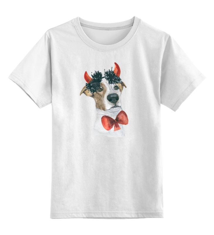 Детская футболка классическая унисекс Printio Джек рассел терьер футболка классическая printio светильник джек