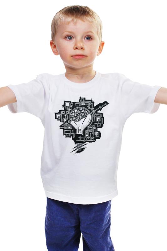 Детская футболка классическая унисекс Printio Лампочка детская футболка классическая унисекс printio мачете