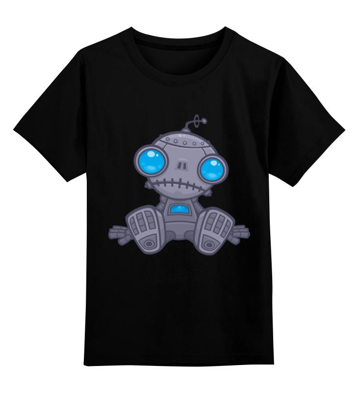 Детская футболка классическая унисекс Printio Sad robot