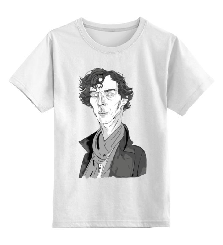 Детская футболка классическая унисекс Printio Шерлок холмс (sherlock holmes) dayle a c the adventures of sherlock holmes рассказы на английском языке
