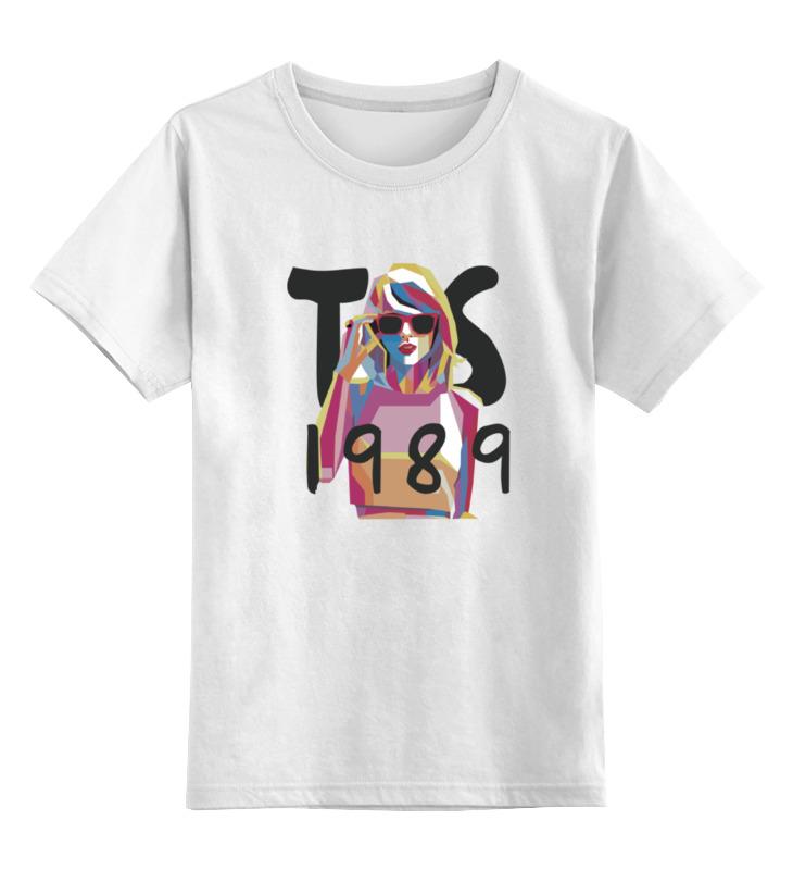 Детская футболка классическая унисекс Printio Taylor swift
