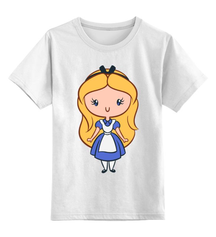 Детская футболка классическая унисекс Printio Алиса в стане чудес детская футболка классическая унисекс printio алиса