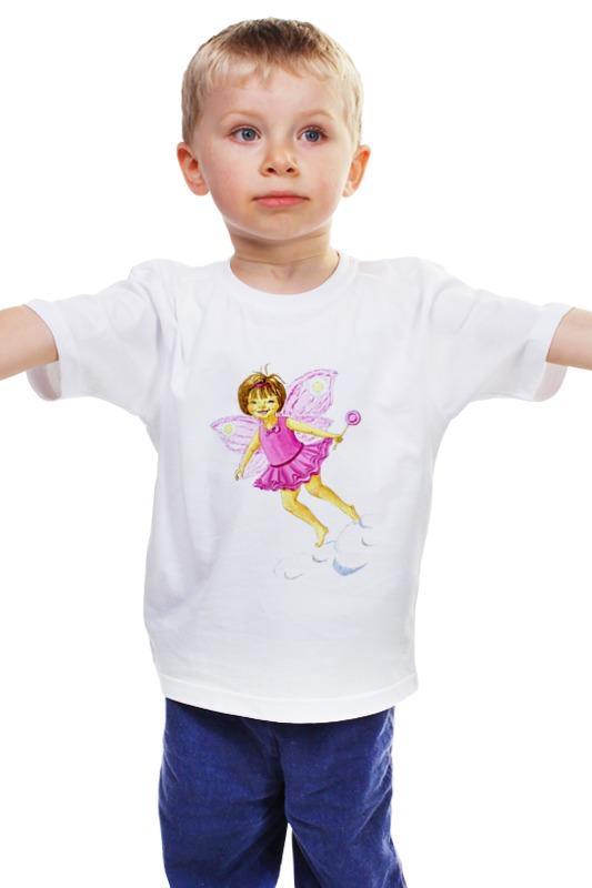 Детская футболка классическая унисекс Printio Розовая феечка ольга гринева феечка и