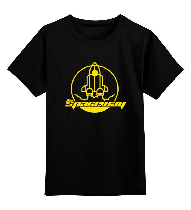 Детская футболка классическая унисекс Printio The spaceway футболка классическая printio the black keys
