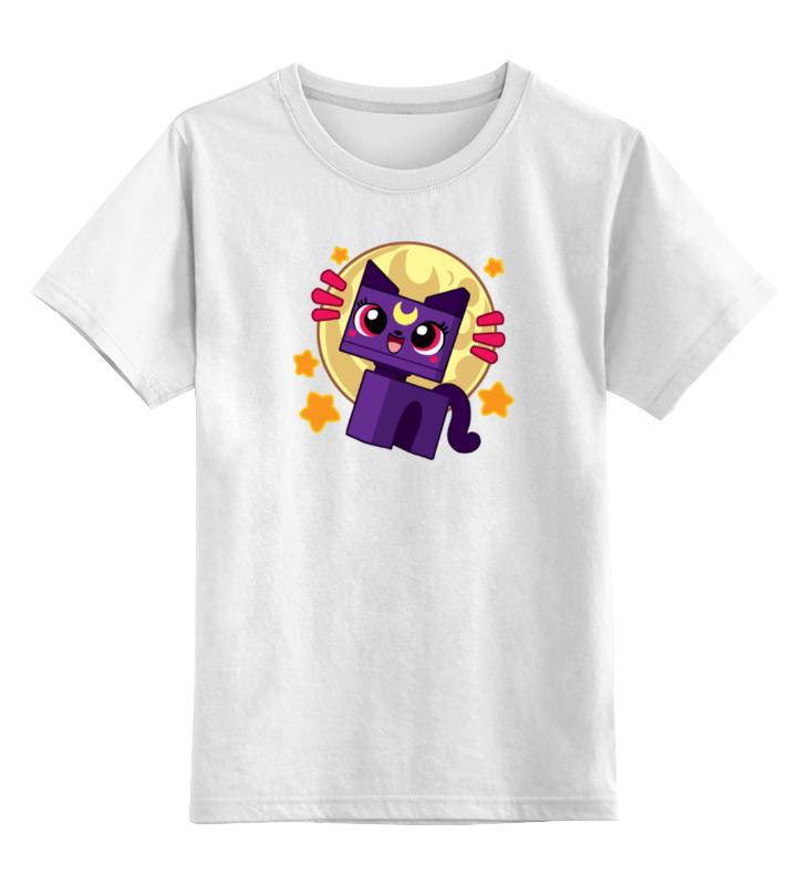Детская футболка классическая унисекс Printio Котенок (сейлор мун) майка классическая printio сейлор мун sailor moon