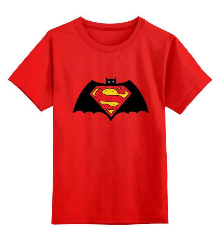 Детская футболка классическая унисекс Printio Бэтмен против супермена футболка классическая printio бэтмен против супермена