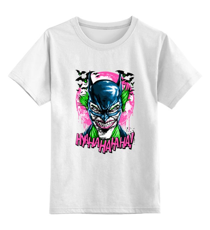 Детская футболка классическая унисекс Printio Джокер (бэтмен) футболка print bar бэтмен и джокер