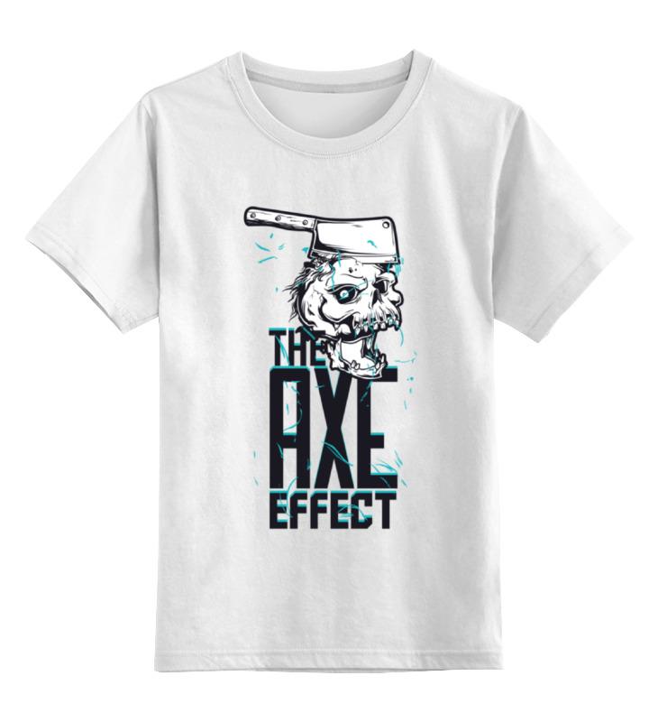 Детская футболка классическая унисекс Printio The axe effect
