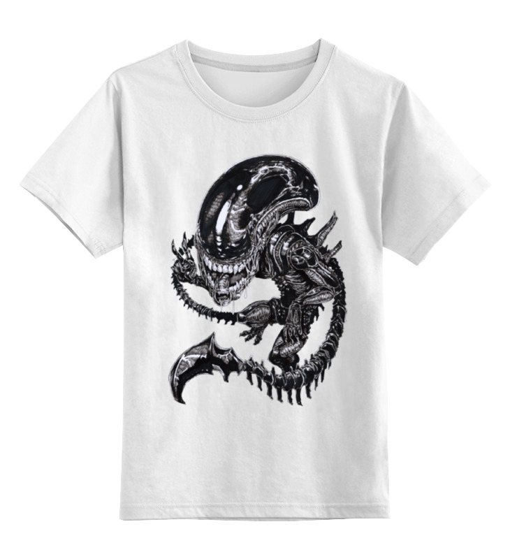 Детская футболка классическая унисекс Printio Чужой / alien футболка классическая printio мачете убивает