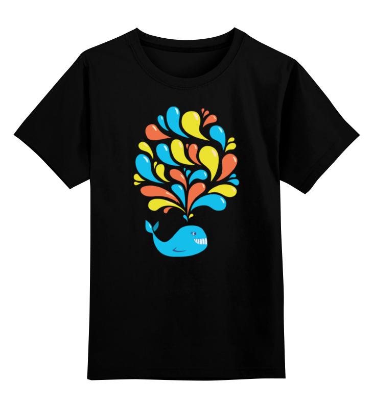 Детская футболка классическая унисекс Printio Милый кит футболка классическая printio кит ричардс