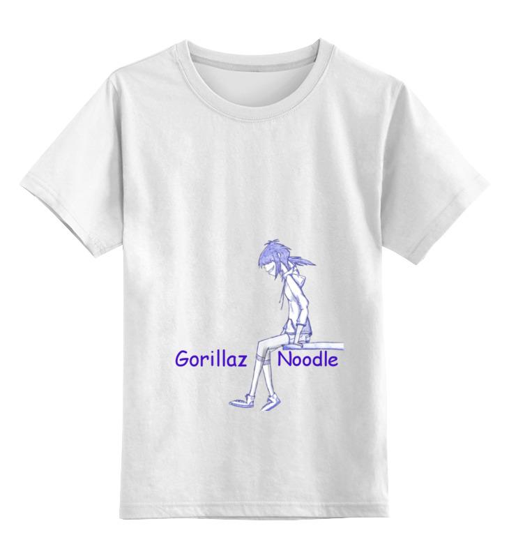 Детская футболка классическая унисекс Printio Gorillaz gorillaz montreal