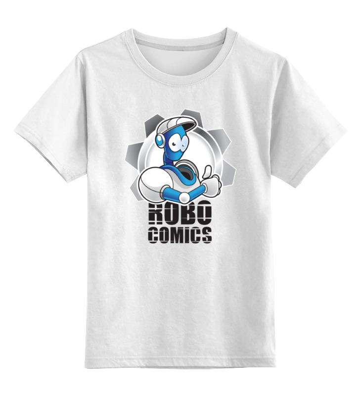 цена Детская футболка классическая унисекс Printio Символ robocomics