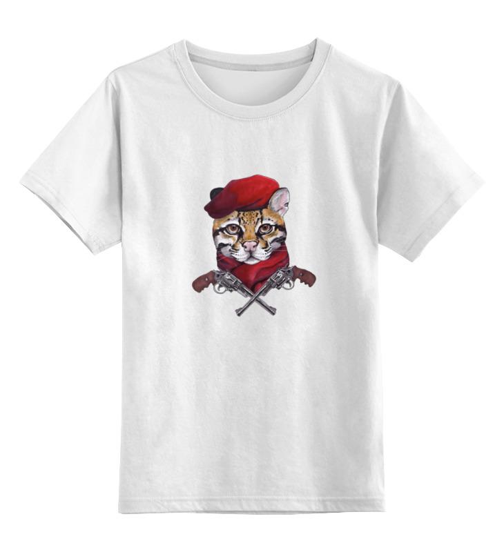 Детская футболка классическая унисекс Printio Revolver ocelot
