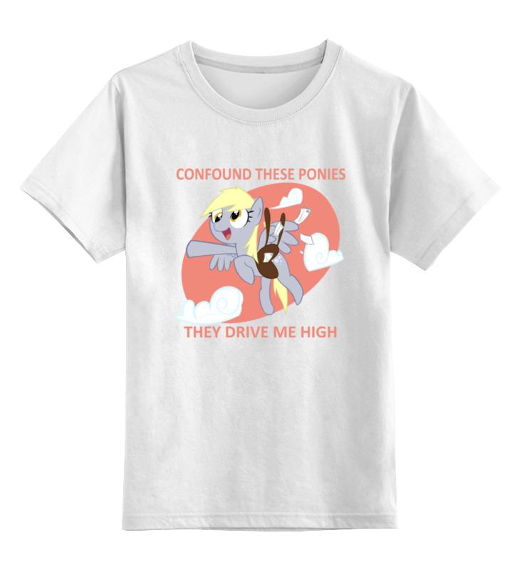 Детская футболка классическая унисекс Printio Derpy hooves детская футболка классическая унисекс printio мотоцикл
