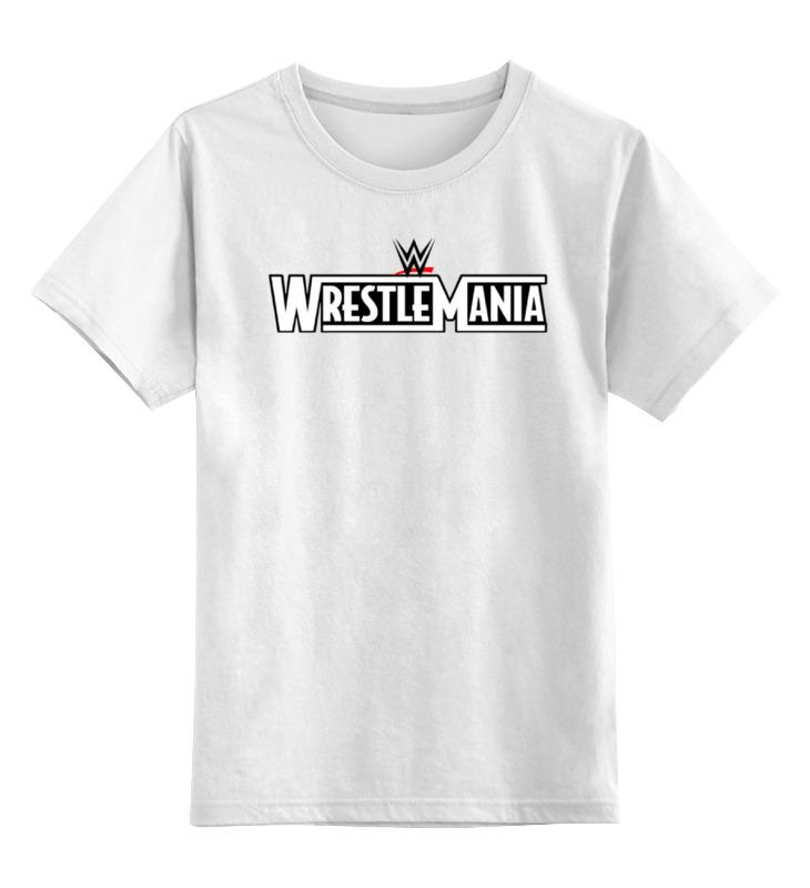 Детская футболка классическая унисекс Printio Wrestlemania