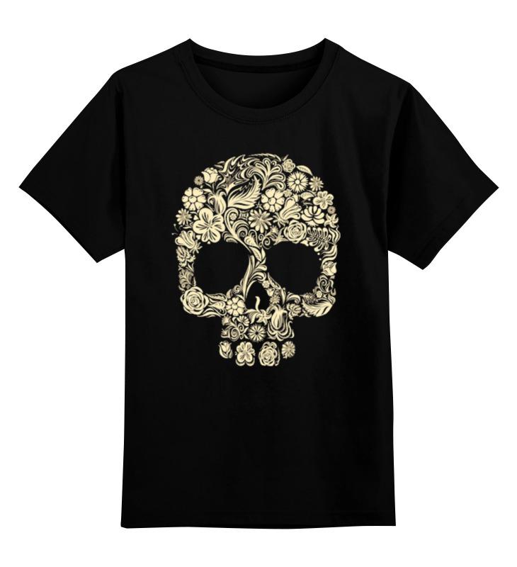Детская футболка классическая унисекс Printio Череп детская футболка классическая унисекс printio череп и скейты