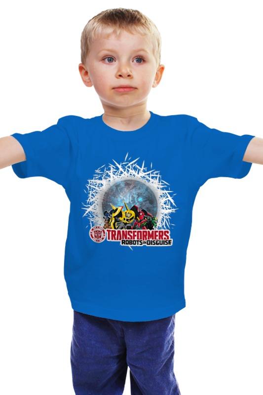 Детская футболка классическая унисекс Printio Трансформеры. роботы под прикрытием роботы и компьютеры детская энциклопедия