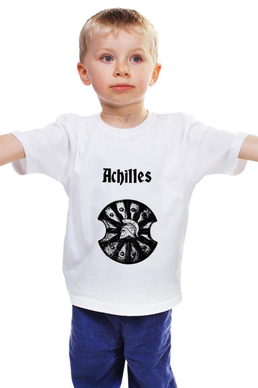 Детская футболка классическая унисекс Printio Achilles детская футболка классическая унисекс printio achilles