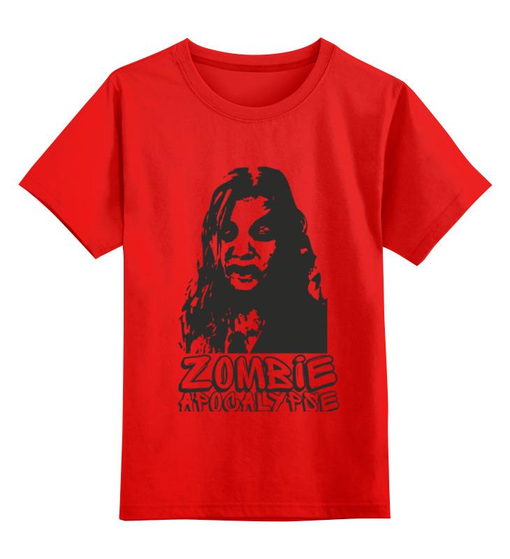 Детская футболка классическая унисекс Printio Зомби апокалипсис майка классическая printio зомби апокалипсис