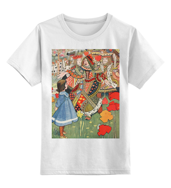 Printio Алиса, червонный король и королева (робинсон) цена в Москве и Питере