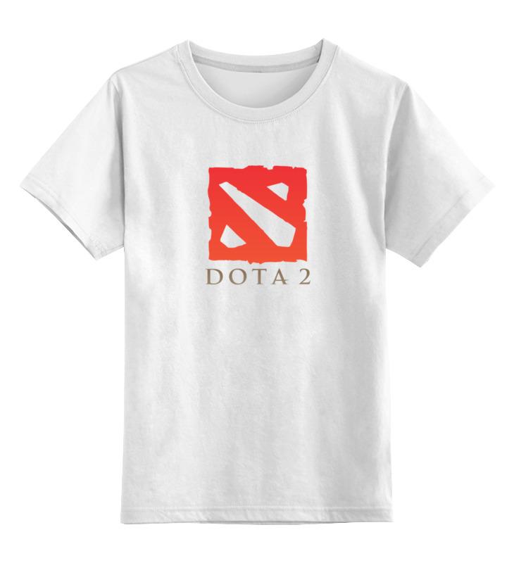 Детская футболка классическая унисекс Printio Dota 2 детская футболка классическая унисекс printio dota 2 logo