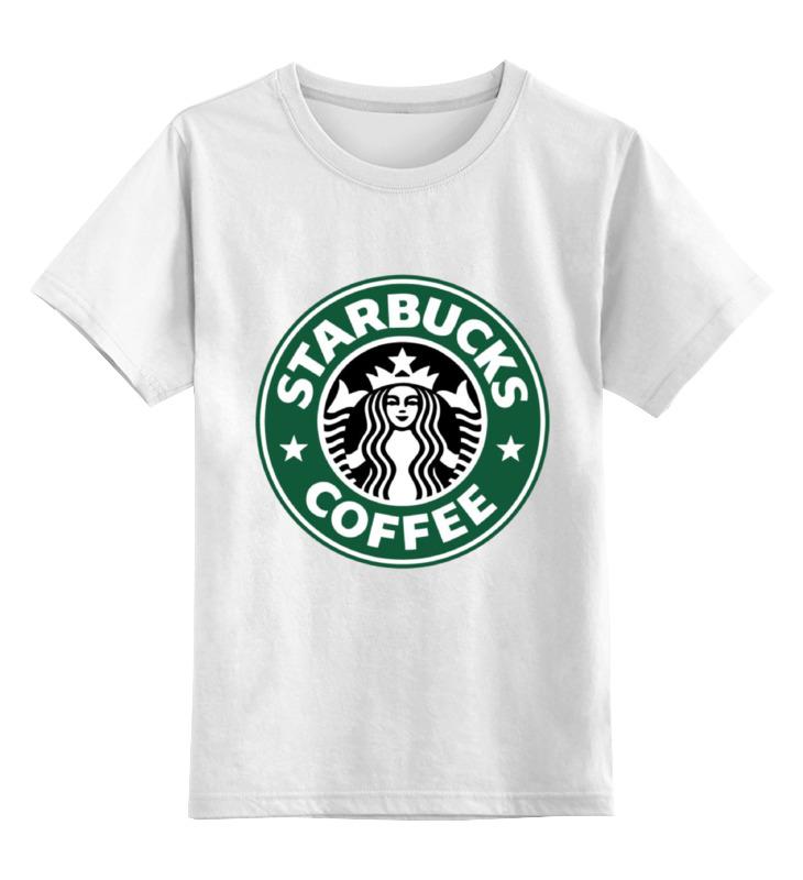 Детская футболка классическая унисекс Printio Starbucks coffee сумка printio starbucks coffee